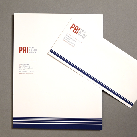 Pacific Research Institute – Non-profit Branding